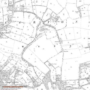 Old map of Gledhow